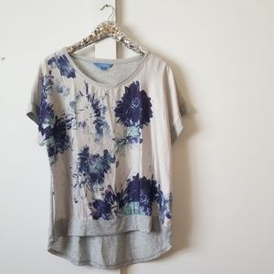 Simply Vera | short sleeve blouse size large